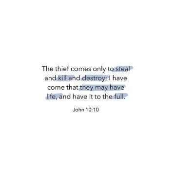 JOHN10.10